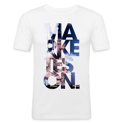 LA 12 Text 2 - Men's Slim Fit T-Shirt