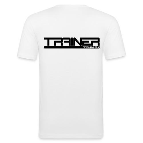Trainer tennis modern - Mannen slim fit T-shirt