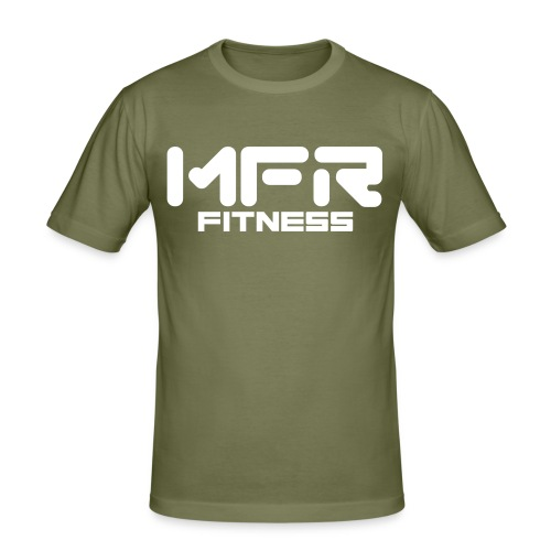 mfr fitness - Slim Fit T-shirt herr