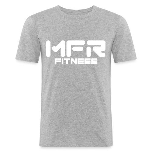 mfr fitness - Slim Fit T-shirt herr