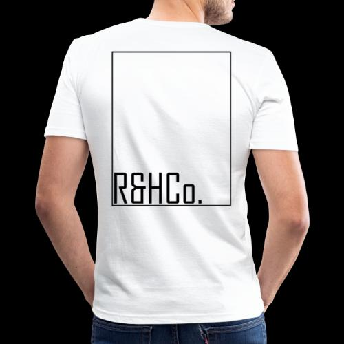 R&HCo design black - Men's Slim Fit T-Shirt