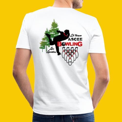 BOWLING ASCEE40 - T-shirt près du corps Homme