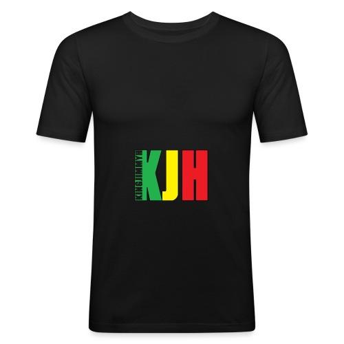 KJH (Logo) - Men's Slim Fit T-Shirt
