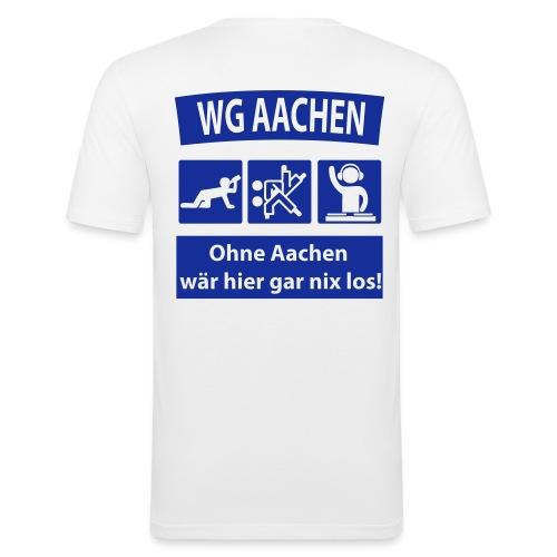 ruecken druckfertig2 - Männer Slim Fit T-Shirt