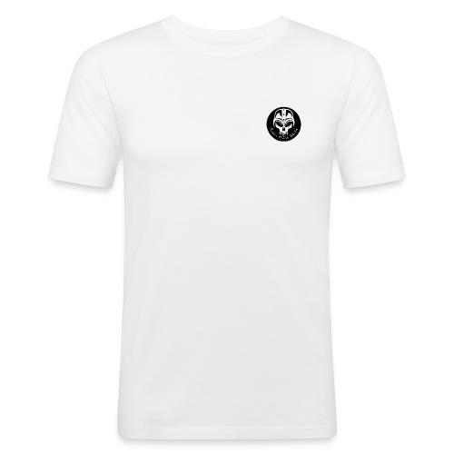 riders logo rund 2011 mindre - Slim Fit T-shirt herr
