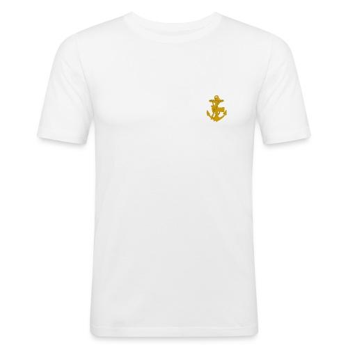 troejor - Slim Fit T-shirt herr