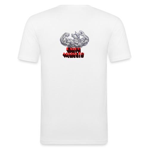 Pure Muscle BestFitness - Camiseta ajustada hombre