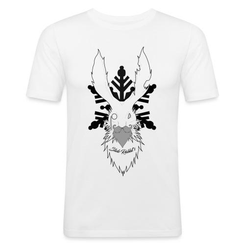 Slide Rabbit's Full Black - T-shirt près du corps Homme