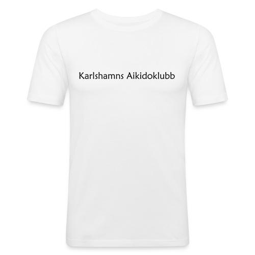KAK - Text - Slim Fit T-shirt herr