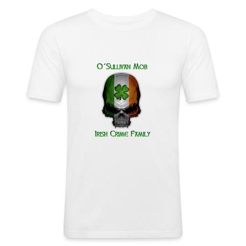 Irish OSM Skull - Männer Slim Fit T-Shirt