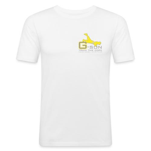 G son Logo - Männer Slim Fit T-Shirt