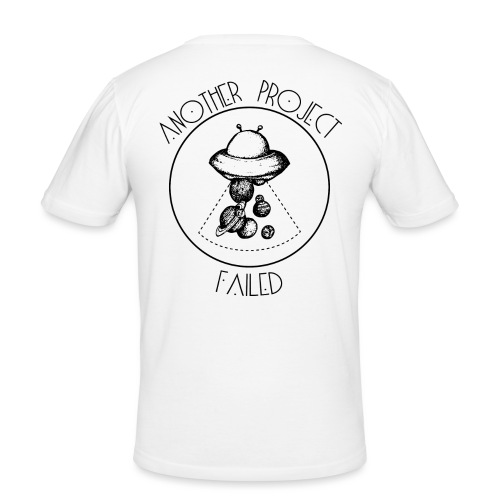 Another project failed - Men's Slim Fit T-Shirt