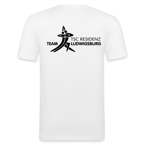 teamresidenzlogosw - Männer Slim Fit T-Shirt