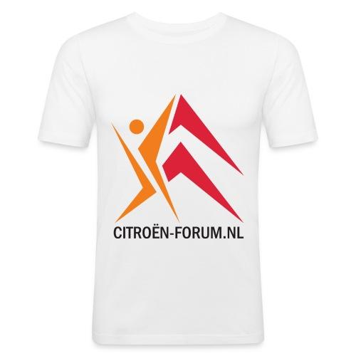 logo cfnl groot 120dpi - Mannen slim fit T-shirt