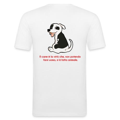Aforisma cinofilo - Maglietta aderente da uomo