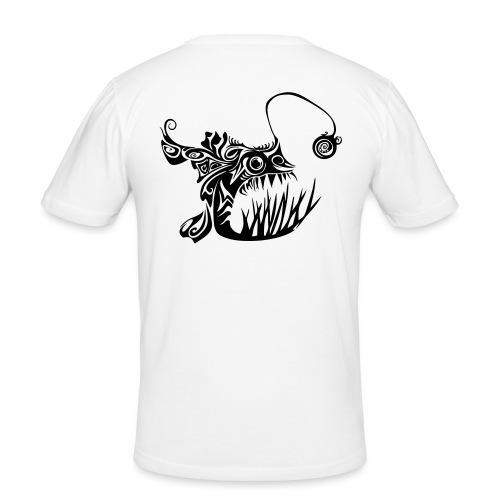 Cranky anglerfish - Men's Slim Fit T-Shirt