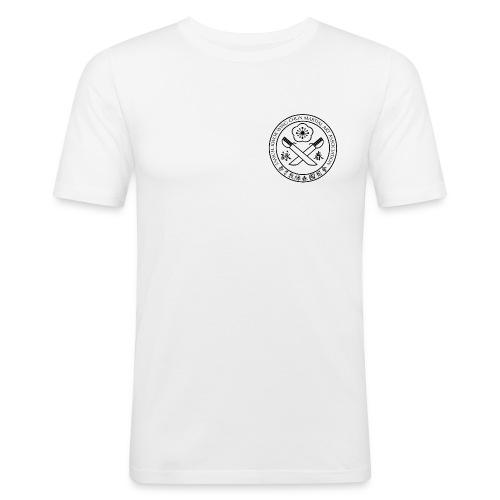 gif Sammuel Kwok logo white png - Men's Slim Fit T-Shirt