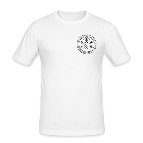 gif Sammuel Kwok logo white png - Men's Slim Fit T-Shirt