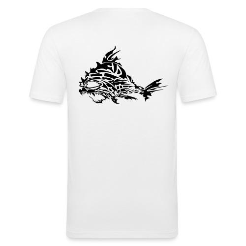 The Furious Fish - Men's Slim Fit T-Shirt
