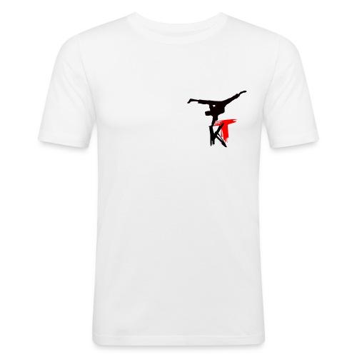 logovorne2 - Männer Slim Fit T-Shirt