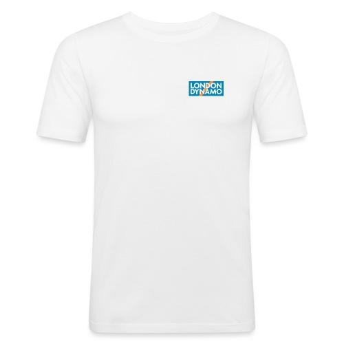 londondynamoSquare ALL jpg - Men's Slim Fit T-Shirt
