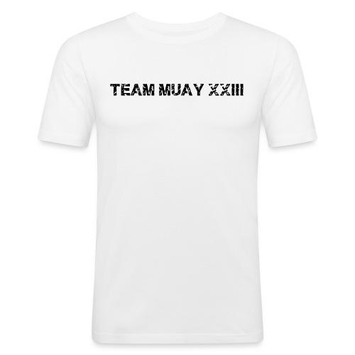 tm black xxl - T-shirt près du corps Homme