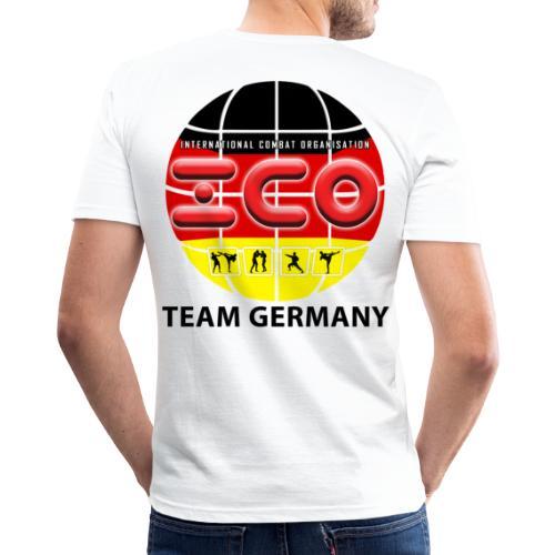 wkc germany logo 2017 - Männer Slim Fit T-Shirt