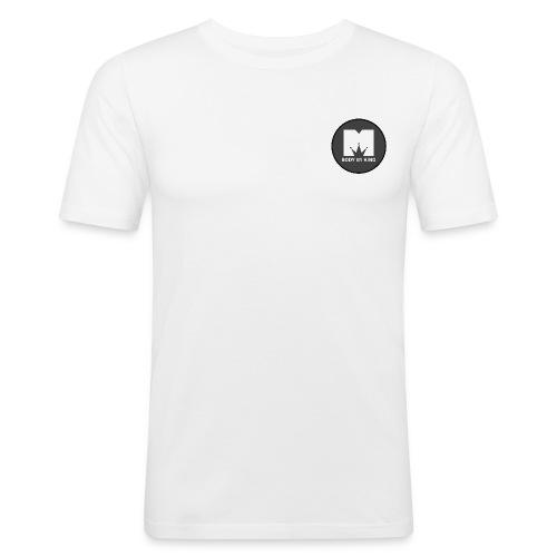 BodyByKing Banner - Men's Slim Fit T-Shirt