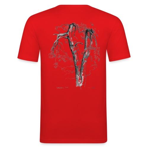 Halaus, Hug - Miesten tyköistuva t-paita