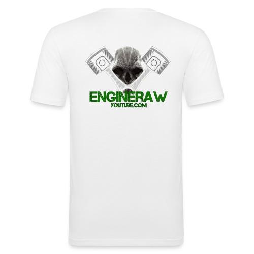 Engineraw - Slim Fit T-skjorte for menn
