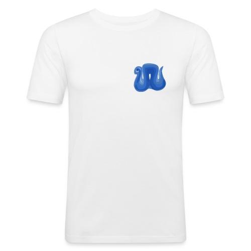 nighres logo - Men's Slim Fit T-Shirt