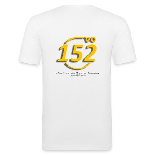 152VO Klassenzeichen sunset Text - Männer Slim Fit T-Shirt