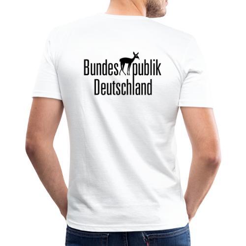 BundesREHpublik_D - Männer Slim Fit T-Shirt