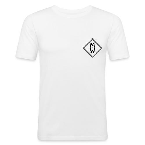 Wild Emblem - Men's Slim Fit T-Shirt
