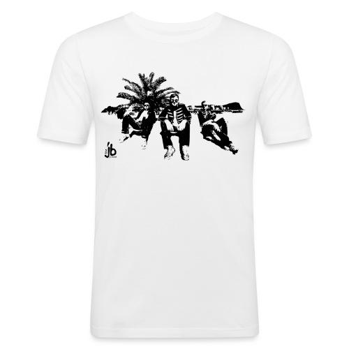 tjb su sw - Männer Slim Fit T-Shirt