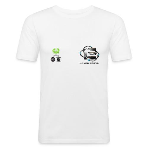 leftchest2 - Men's Slim Fit T-Shirt