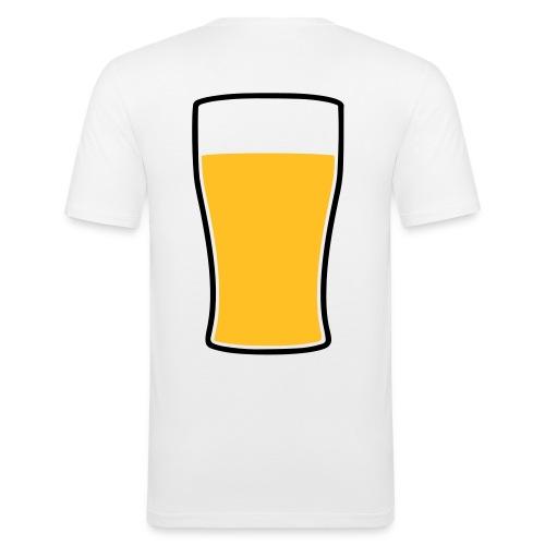 Bier! - Männer Slim Fit T-Shirt