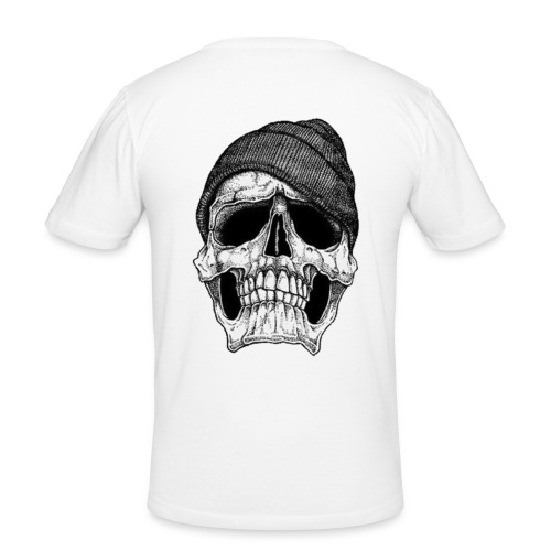 Back - Slim Fit T-shirt herr