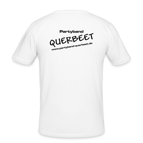 Querbeet new black - Männer Slim Fit T-Shirt