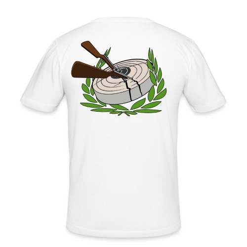 cropek logo0101 - Männer Slim Fit T-Shirt