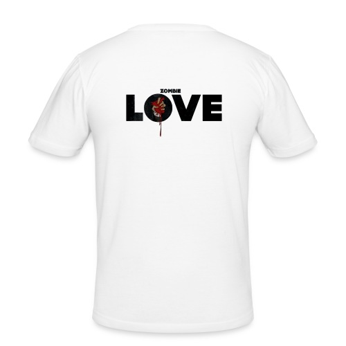 zombie love - T-shirt près du corps Homme