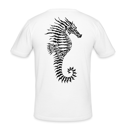 Alien Seahorse Invasion - Men's Slim Fit T-Shirt