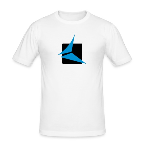 trancefix logo - Men's Slim Fit T-Shirt