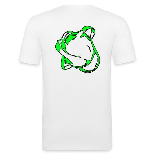vert copie - T-shirt près du corps Homme