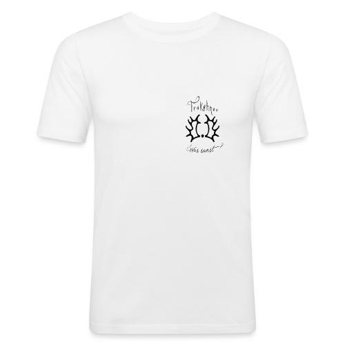trakehnerwas sonstrappe - Männer Slim Fit T-Shirt