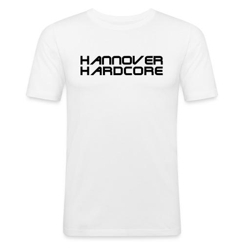 HHC Schriftzug schwarz - Männer Slim Fit T-Shirt