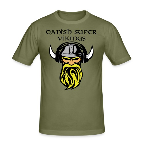 Slogan.png Sportsbeklædning - Herre Slim Fit T-Shirt