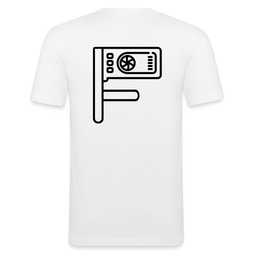 Logo Floewtech - Men's Slim Fit T-Shirt