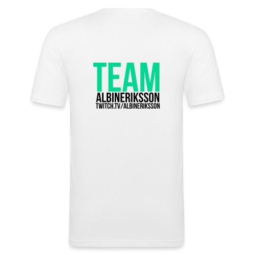 Team albinerikss0n Svart - Slim Fit T-shirt herr