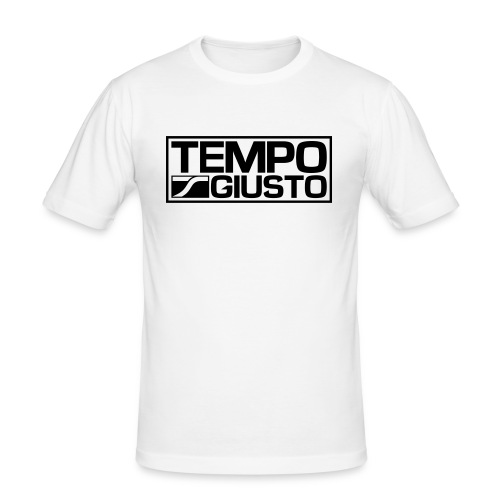 Tempo Giusto Rectangle - Men's Slim Fit T-Shirt